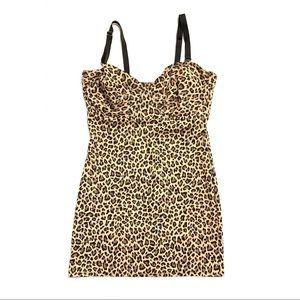 NANCY GANZ Bodyslimmers Leopard Shapewear Set